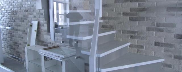 Лестница двойной каркас-4