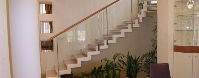 Лестница двойной каркас-1