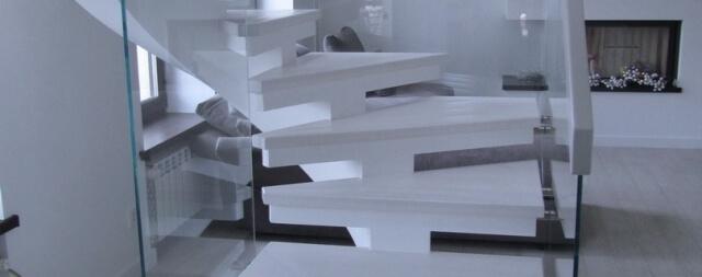 Косоурная лестница-8