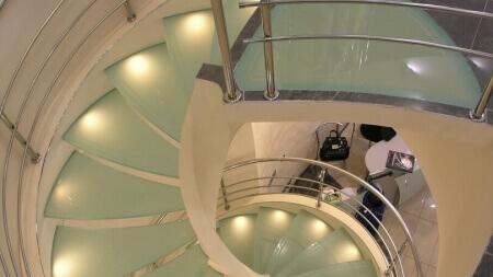Лестница сложной формы-1