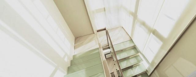 Лестница на центральном косоуре в с.Стоянка