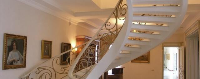 Тетивная лестница-1