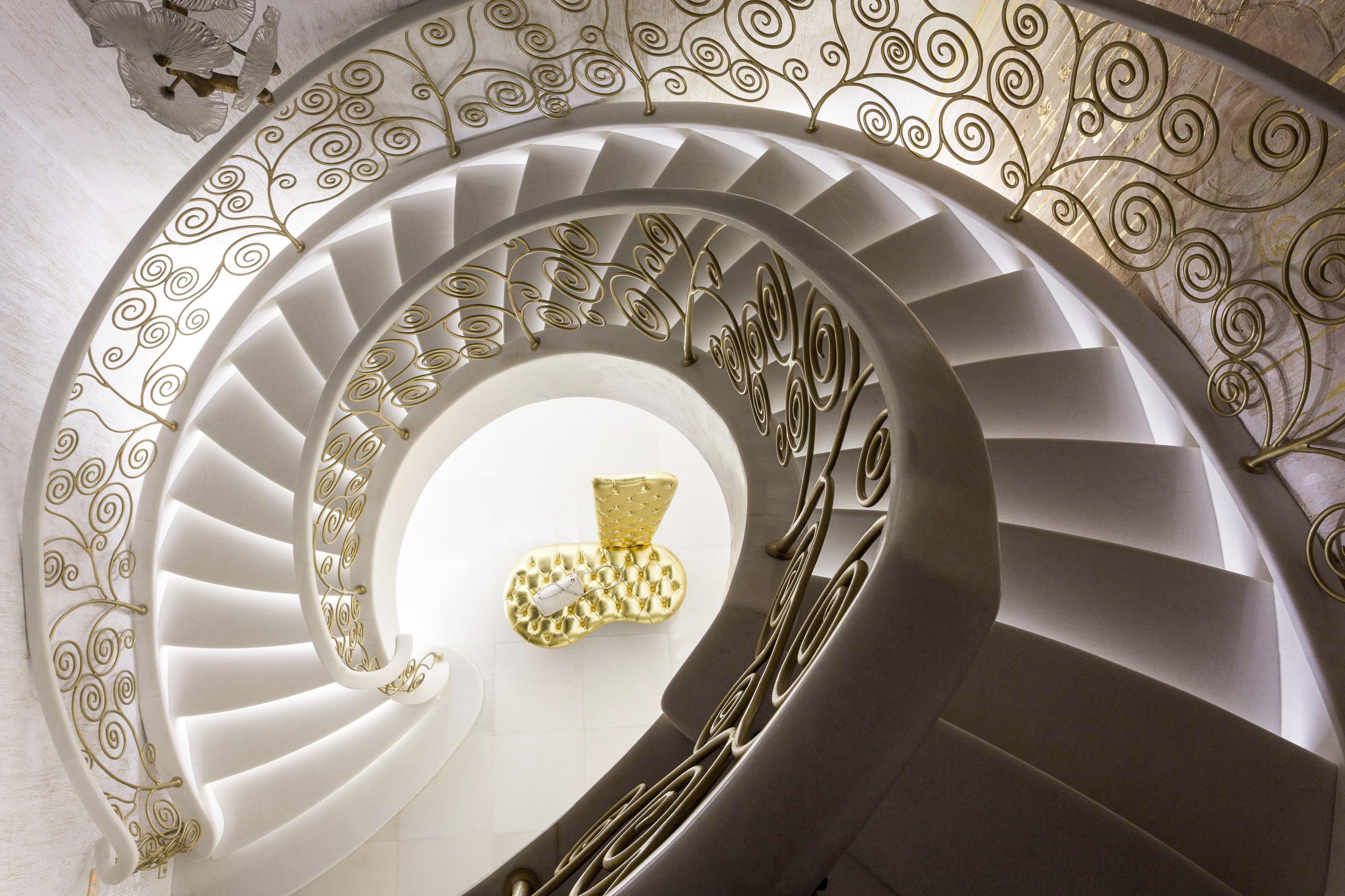 Примеры винтовых лестниц