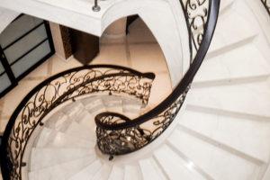Эксклюзивная винтовая лестница