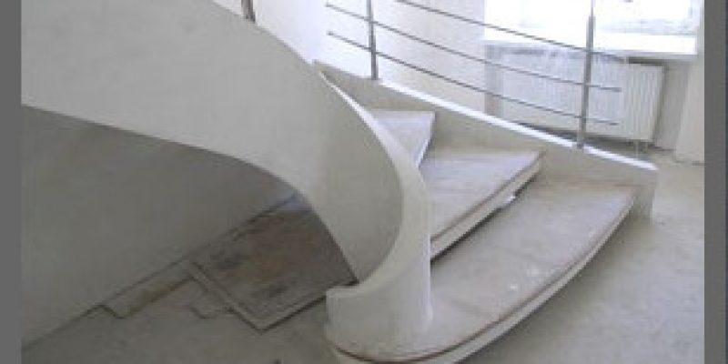 Бетонные лестницы для дома и офиса