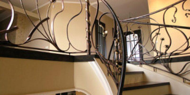 Конструкция лестниц. Перила